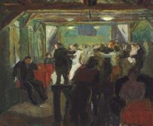 Max Beckmann, Sala da ballo | Tanzlokal