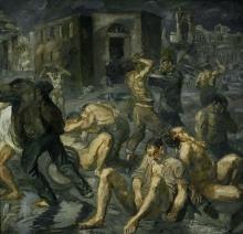 Max Beckmann, Scena dalla distruzione di Messina | Scene from the destruction of Messina