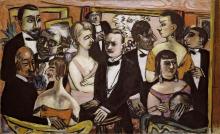 Max Beckmann, Società parigina | Gesellschaft Paris | Paris society