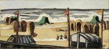 Max Beckmann, Spiaggia grigia | Grauer Strand