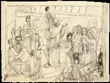 Max Beckmann, Studenti | Students