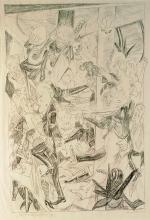 Max Beckmann, Studio per Malepartus | Study for Malepartus