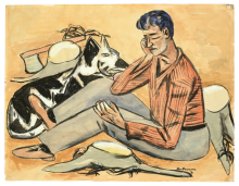 Max Beckmann, Taglialegna | Holzfäller