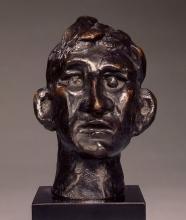 Max Beckmann, Testa di un uomo | Head of a man
