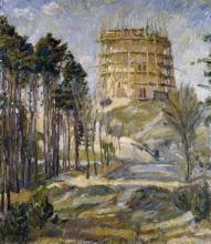 Max Beckmann, Torre dell'acqua ad Hermsdorf | Wasserturm in Hermsdorf | Water tower in Hermsdorf