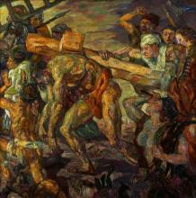 Max Beckmann, Trasporto della croce | Kreuztragung