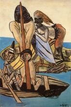 Max Beckmann, Ulisse e sirena | Odysseus und Sirene | Odysseus and siren