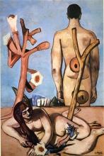 Max Beckmann, Uomo e donna | Man and woman