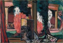Max Beckmann, Veduta dalla finestra a Baden-Baden | Blick aus dem Fenster in Baden-Baden