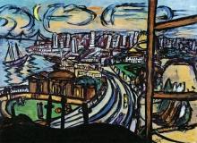 Max Beckmann, Veduta di San Francisco | Blick auf San Francisco