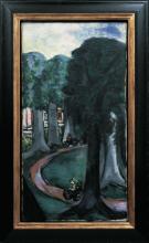 Max Beckmann, Viale di un parco   Parkweg [1943]