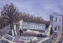 Max Beckmann, Vivaio nei pressi di Francoforte | Gärtnerei bei Frankfurt