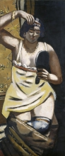 Max Beckmann, Zingara (Nudo con specchio) | Zigeunerin (Akt mit Spiegel)
