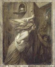 François Léon Benouville, I due colombi   Les deux pigeons