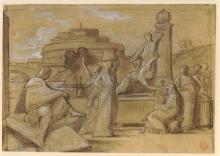 François Léon Benouville, Poussin a Roma | Poussin à Rome | Poussin in Rome
