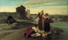 François Léon Benouville, Poussin trova il soggetto per il suo Mose | Poussin trouve le sujet de son Moïse | Poussin finding the subject for his Moses