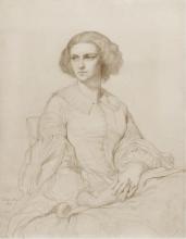 François Léon Benouville, Ritratto della signora Cornelia Marjolin, nata Scheffer | Portrait de Madame Cornelia Marjolin, née Scheffer