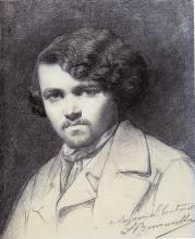 François Léon Benouville, Ritratto di Philibert Leon Couturier | Portrait de Philibert Léon Couturier