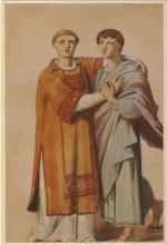 François Léon Benouville, Studio per 'Martiri cristiani che entrano nell'anfiteatro' [verso] | Étude pour Martyrs chrétiens entrant à l'amphithéâtre' [verso]