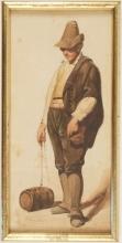 Jean Achille Benouville (attribuito a), Vignarolo