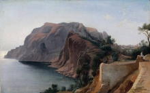 Jean Achille Benouville, Capri