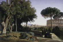 Jean Achille Benouville, Il Colosseo visto dal Palatino   Le Colisée vu du Palatin   Colosseum viewed from the Palatine [1844]