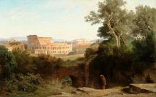 Jean Achille Benouville, Il Colosseo visto dal Palatino | Le Colisée vu du Palatin | Colosseum viewed from the Palatine [1870]