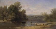 Jean Achille Benouville, Le rive dell'Allier | Les bords de l'Allier