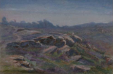 Jean Achille Benouville, Le rocce di Fontainebleau | Les rochers de Fontainebleau