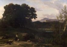 Jean Achille Benouville, Lunghezza (dintorni di Roma) | Lunghezza (environs de Rome)