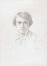 Jean Achille Benouville, Ritratto di Léon Benouville   Portrait de Léon Benouville