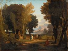 Jean Achille Benouville, Ulisse e Nausicaa | Ulysse et Nausicaa
