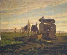 Ernesto Bertea, Un pozzo di cascina (Delfinato)