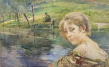 Paul Albert Besnard, Sulla riva | Sur la rive | By the shore