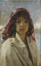 Mosè Bianchi, Busto di giovinetta chioggiotta