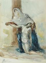 Mosè Bianchi, Deposizione