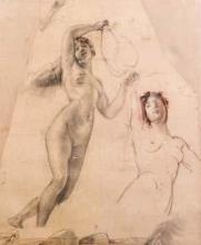 Mosè Bianchi, Due nudi femminili