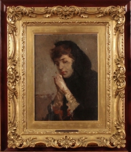 Mosè Bianchi, Figura di donna