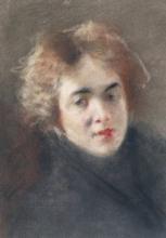 Mosè Bianchi, Figura femminile   Female figure