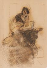 Mosè Bianchi, Giovane donna che legge