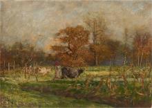 Mosè Bianchi, Guardiane di vacche