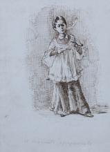Bianchi Mosè, Il chierichetto spregiudicato | The unscrupulous altar boy