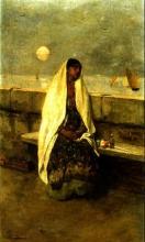Mosè Bianchi, In riva al mare