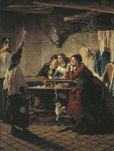 Bianchi Mosè, La benedizione delle case | The blessing of houses