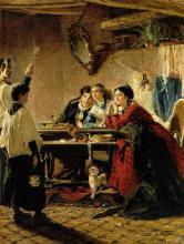 Mosè Bianchi, La benedizione delle case