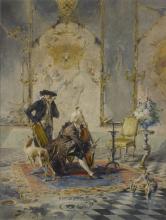 Mosè Bianchi, La lezione di violoncello