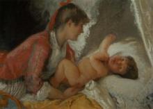 Mosè Bianchi, Maternità