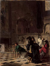 Mosè Bianchi, Nel Duomo di Monza