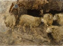 Mosè Bianchi, Pecore