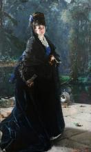 Mosè Bianchi, Ritratto di Elisabetta Sottocasa